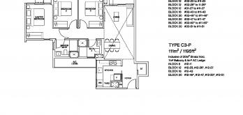 ki-residences-floor-plan-3-bedroom-C3