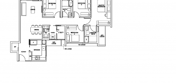 ki-residences-floor-plan-4-bedroom-yard-utility-D1